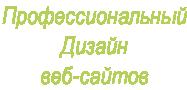 Профессиональный Дизайн  веб-сайтов